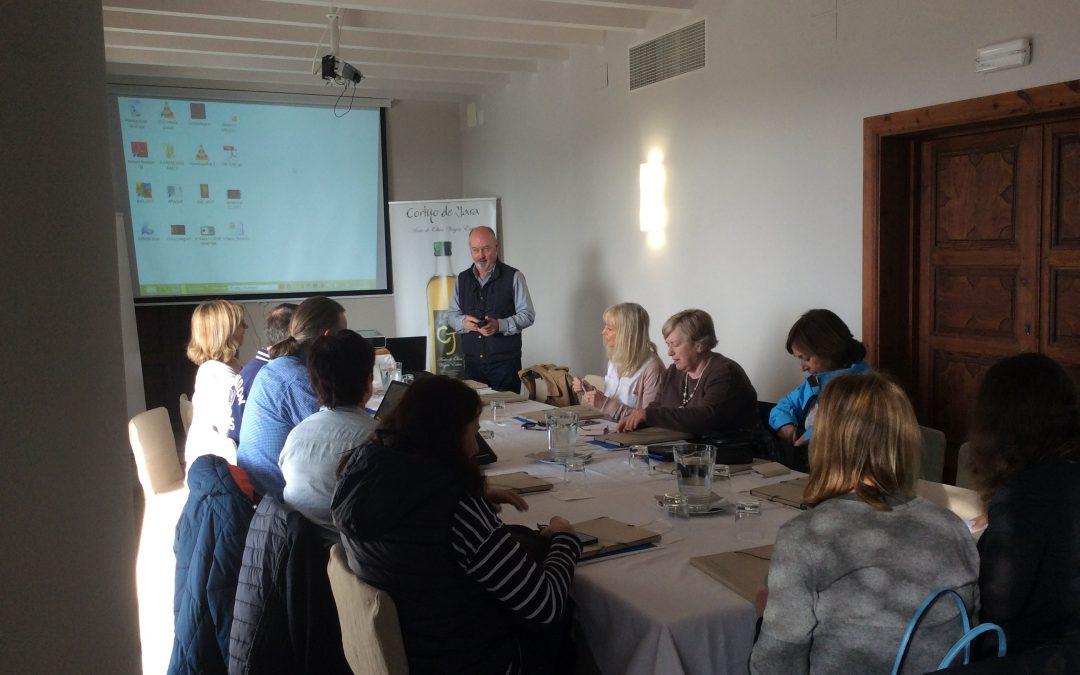 Reunión Erasmus Plus en Cortijo de Jara