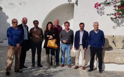 Visita del Delegado Territorial de Agricultura
