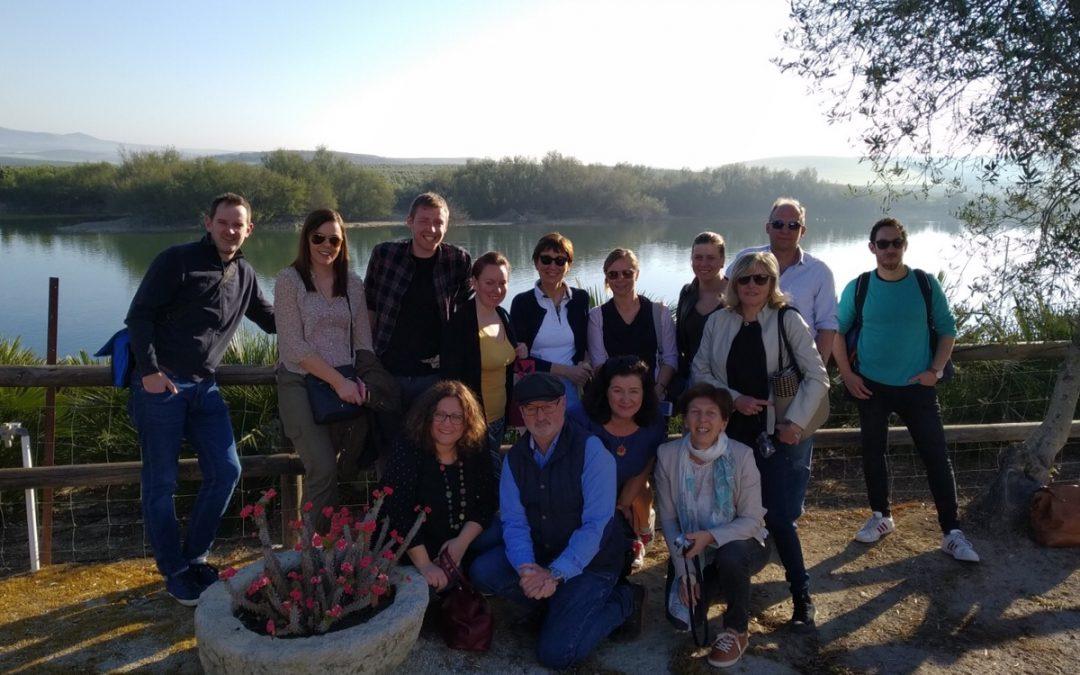 Reunión Erasmus Plus Meeting en Cortijo de Jara